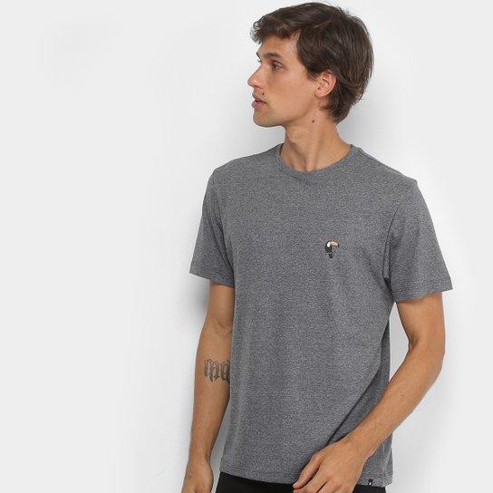 468833ccfb5f9 Camiseta Hurley Silk Tucano Masculina - Mescla Claro - Compre Agora ...