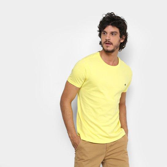 Camiseta Replay Básica Masculina - Amarelo Claro - Compre Agora ... 77391b76dc0