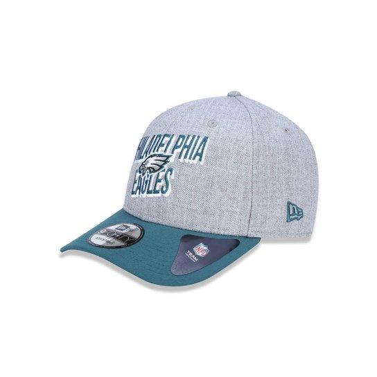 Boné 940 Philadelphia Eagles NFL Aba Curva Snapback New Era - Mescla Claro 79005f51c85