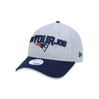 2d0307fd80853 Boné 920 New England Patriots NFL Aba Curva New Era