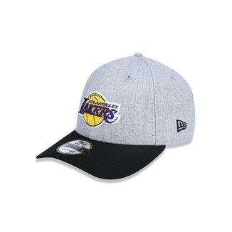 Boné 940 Los Angeles Lakers NBA Aba Curva Snapback New Era 74e60e8b3a2