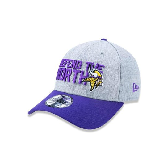 a05aed222d522 Boné 3930 Minnesota Vikings NFL Aba Curva New Era - Compre Agora ...