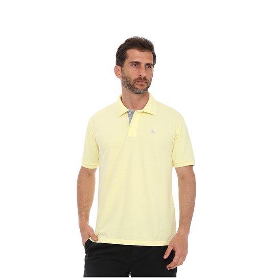 Camisa Polo England Polo Club Casual - Amarelo Claro - Compre Agora ... 9a5f29523fead