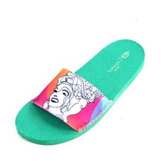 7437221cc8 Chinelo Slide Cupcakes Shoes Chiquita Feminino