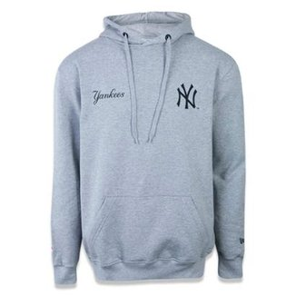 Moletom Canguru Fechado New York Yankees MLB New Era Masculino 14d98deb7b8