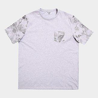 a9719ca340 Camiseta Plus Size All Free Estampada Masculina