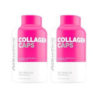 dc8254154 Kit 2x Collagen Caps Ella Atlhetica 120 Cápsulas