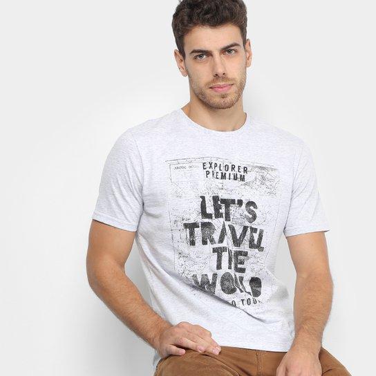 be79a99fd9 Camiseta TREEBO Let s Travel Masculina - Compre Agora