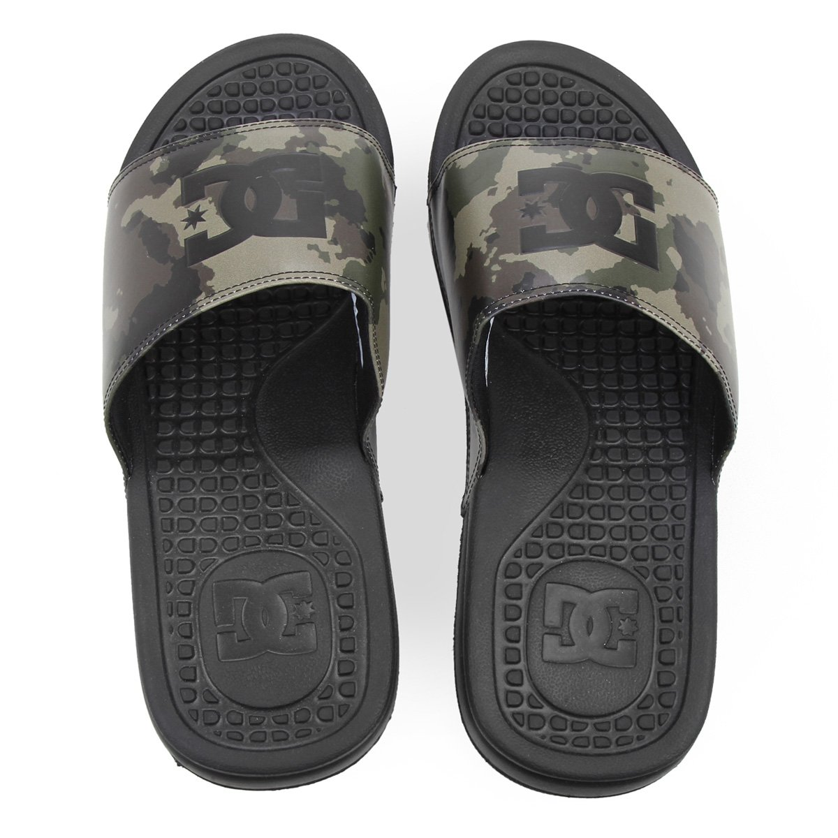 Chinelo Slide DC Shoes Bolsa Men La-Adyl Masculino