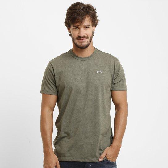 df9d21b93e Camiseta Oakley Dry Masculina - Verde Militar - Compre Agora