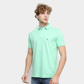 8f4cc043e0 Camisas-Polo Tommy Hilfiger - Ótimos Preços