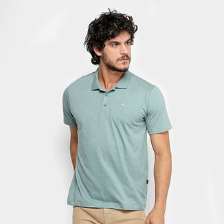 c8d7bae3def Camisa Polo Quiksilver Heather Masculina