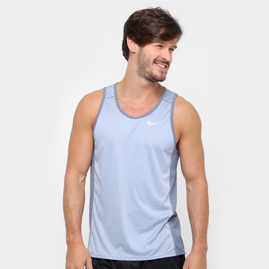 Regata Nike Dri-Fit Miler Masculina - Cinza - Compre Agora  18f1d69840d