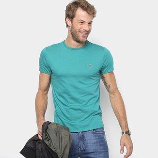 db7afc1e9ed Camiseta Lacoste Básica Jersey Masculina