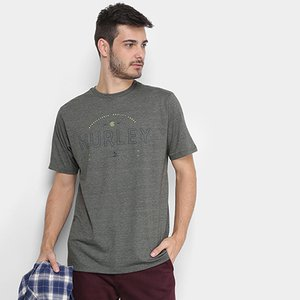 3c03a00e6d Camiseta Hurley Layover Masculina