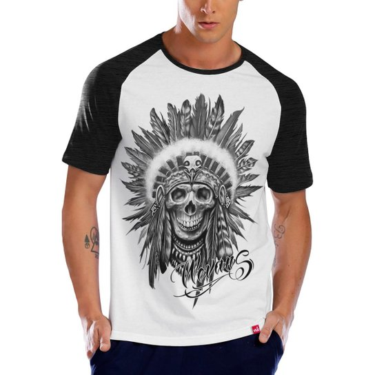 1dfecb814f Camiseta Raglan Apache Tattoo - Compre Agora