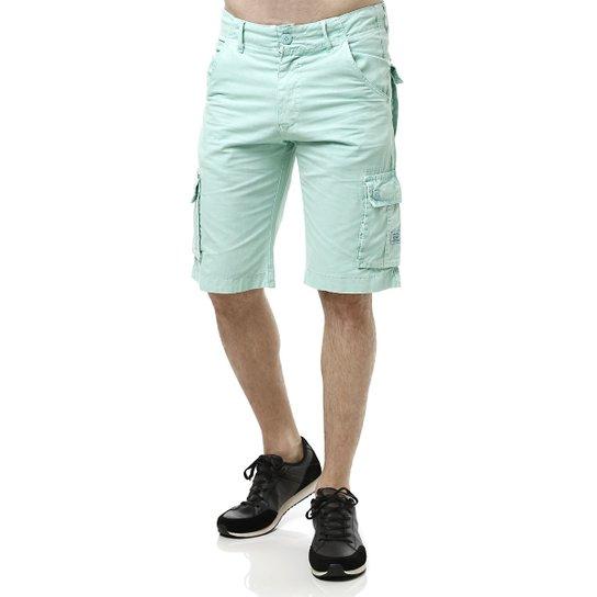 Bermuda Jeans Masculina Gangster Verde claro - Compre Agora   Zattini 0c8e378aa2