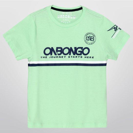 Camiseta Promocional Onbongo Infantil - Compre Agora  3448db060db