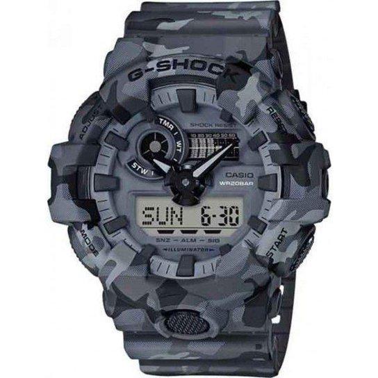 3e9ff13b6c5 Relógio Casio G-Shock GA-700CM Masculino - Compre Agora