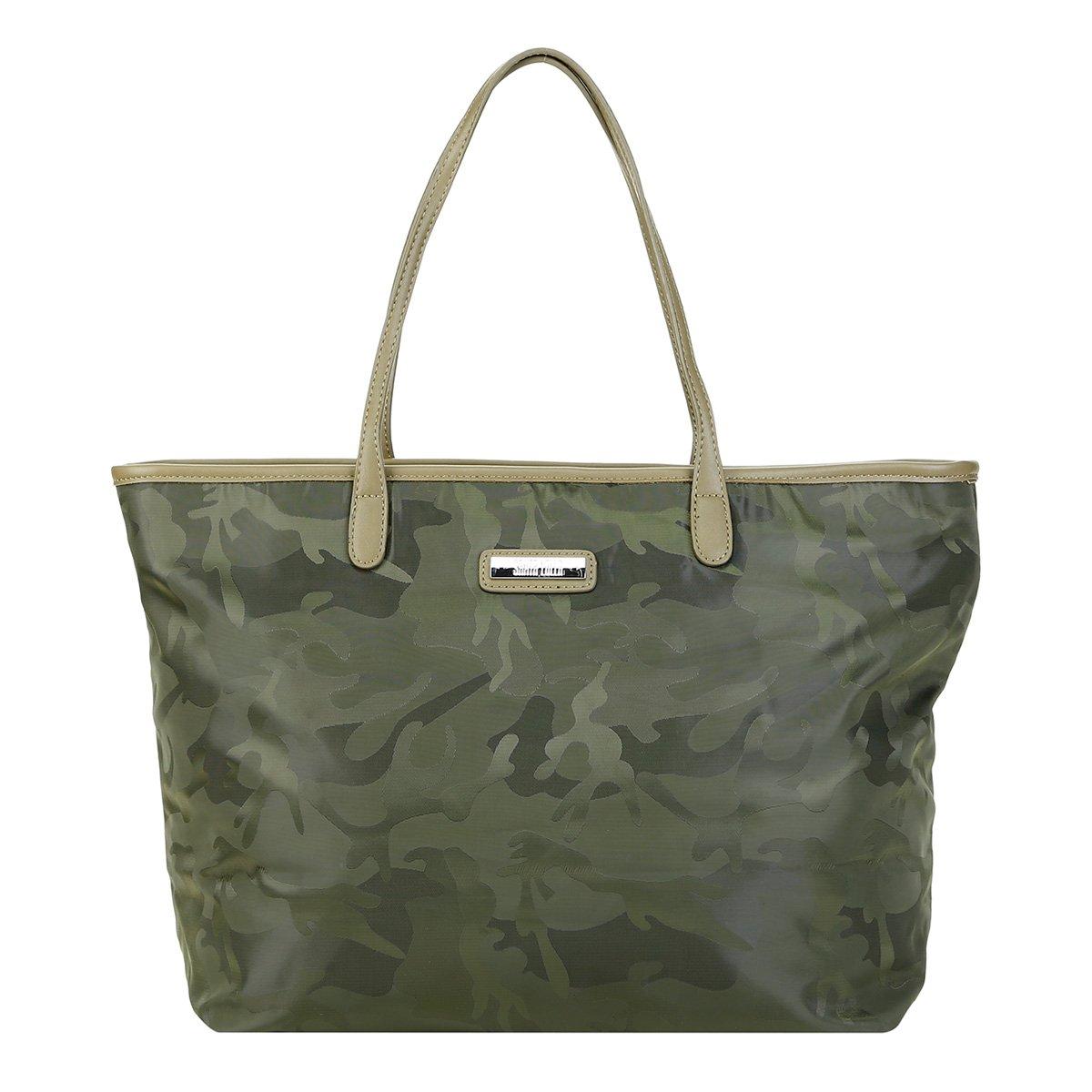 9ece0721f Bolsa Santa Lolla Shopper Camuflada Feminina