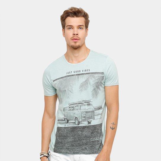 c8349cddd Camiseta Kohmar Just Good Vibes Masculina - Compre Agora   Zattini