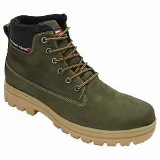 f504b9e673 Bota Couro Coturno Atron Shoes Urbana Masculino