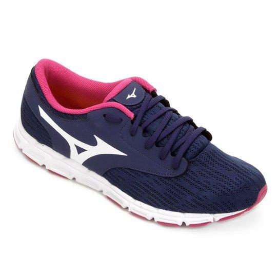 Tênis Mizuno EZ Flex Feminino - Azul e Rosa - Compre Agora  1da40eb1b30d4
