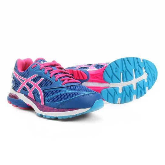Tênis Asics Gel Pulse 8 A Feminino - Azul e Rosa - Compre Agora ... bf15f74d3e2ba