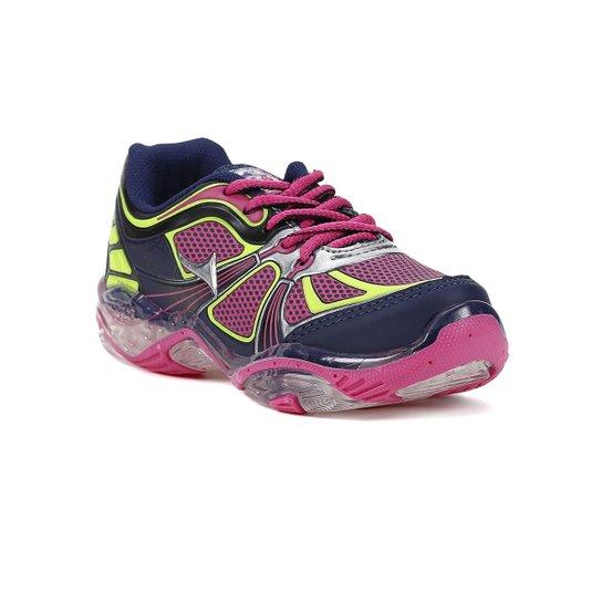 cad0ca4e03 Tenis Infantil Para Menina - Azul marinho rosa - Compre Agora