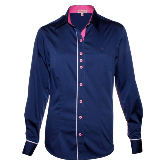 Camisa Pimenta Rosada Paolla - Compre Agora  fd8d69b1200ab