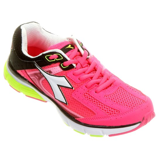 f3488ae03f1 Tênis Diadora Walker Feminino - Pink e Preto - Compre Agora