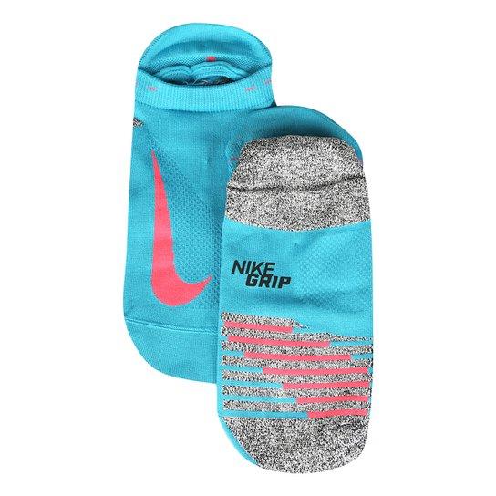 a904006007 Meia Invisível Nike Elite Lightweight - Azul e Laranja - Compre ...