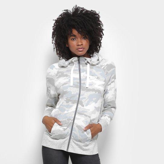 2aad3989990 Jaqueta Nike Moletom Camuflada Feminina - Compre Agora
