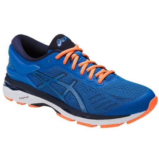 Tênis Asics Gel-Kayano 24 Masculino - Azul e Laranja - Compre Agora ... b909731a179b6