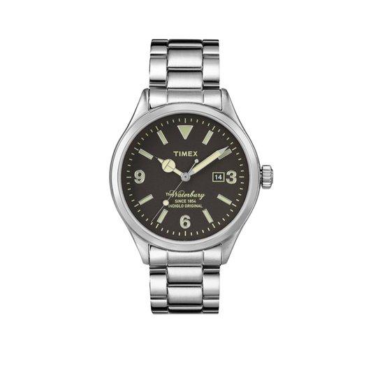 392251f32d5 Relógio Timex Heritage TW2P75100WW N Masculino - Compre Agora