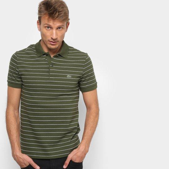b0ea8ed68a Camisa Polo Lacoste Listrada Masculina - Compre Agora
