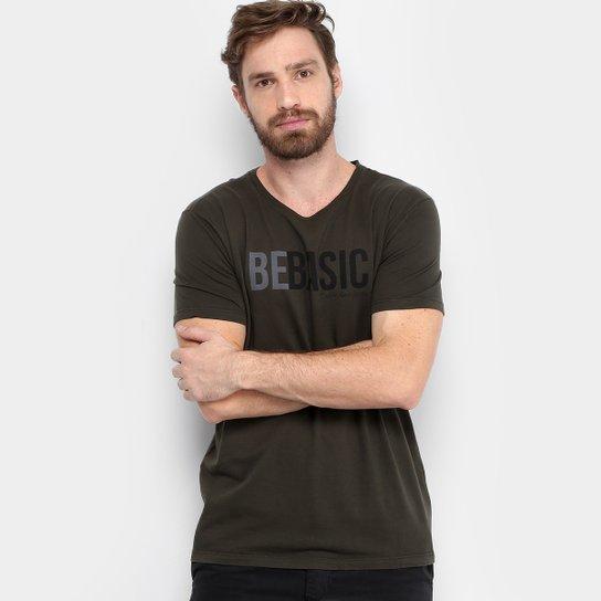 Camiseta Calvin Klein Be Basic Masculina - Compre Agora  885817673b938