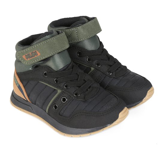 306fb7cb978 Tênis Infantil Cano Alto Klin Baby Walk Masculino - Compre Agora ...