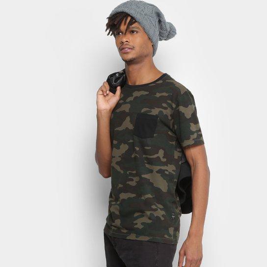 6b28726875a1a Camiseta Replay Camuflada Masculina - Compre Agora