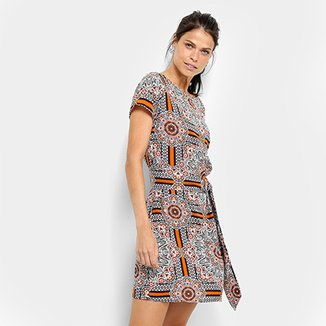 1a73f3a9c8 Vestido Top Modas Étnico Faixa