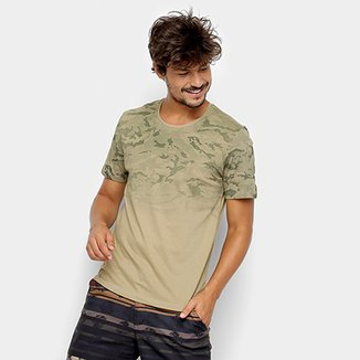 Camiseta Kohmar Camuflada Manga Curta Masculina 6bf07bef6a9
