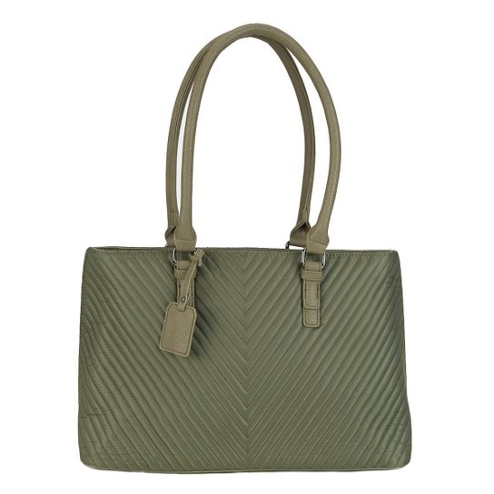 fa4c35238 Bolsa Shoestock Executiva Matelassê Feminina - Compre Agora