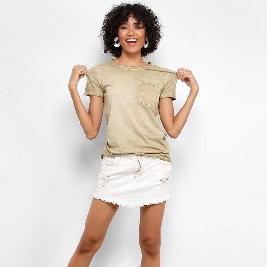 Camiseta Drezzup Estonada Bolso Feminina - Compre Agora  45712b94320ce