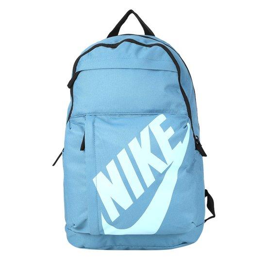 4cd0e20dc Mochila Nike Sportswear Elemental - Azul e Branco | Zattini