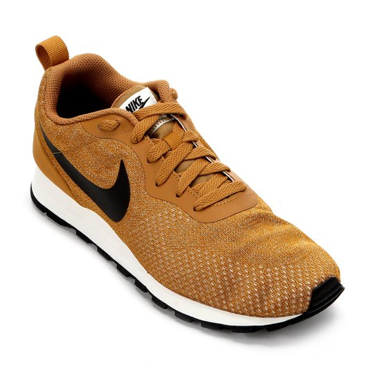 318c372c82 Tênis Nike Md Runner 2 Eng Mesh Masculino - Caramelo e Preto ...