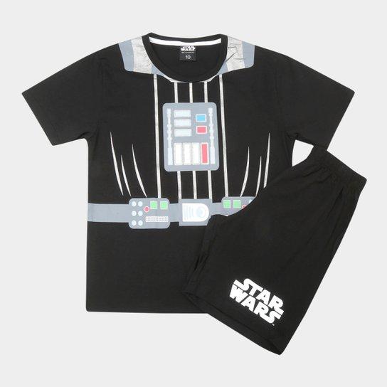 a97a1ed27c65c Pijama Infantil Lupo Curto Star Wars Masculino - Compre Agora
