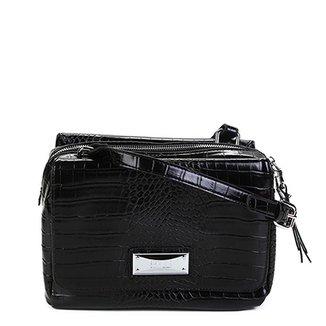 2d83371d90 Bolsa Santa Lolla Handbag Textura Alça Transversal Feminina