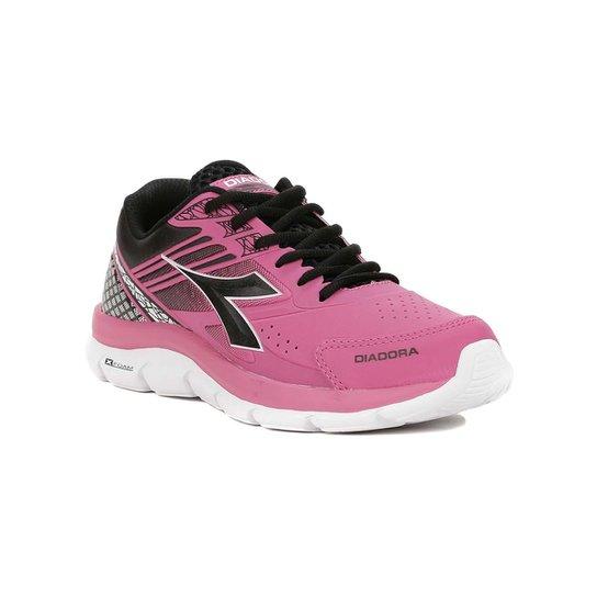 Tênis Esportivo Feminino Diadora Rosa preto - Rosa e Preto - Compre ... 7360132a5cb
