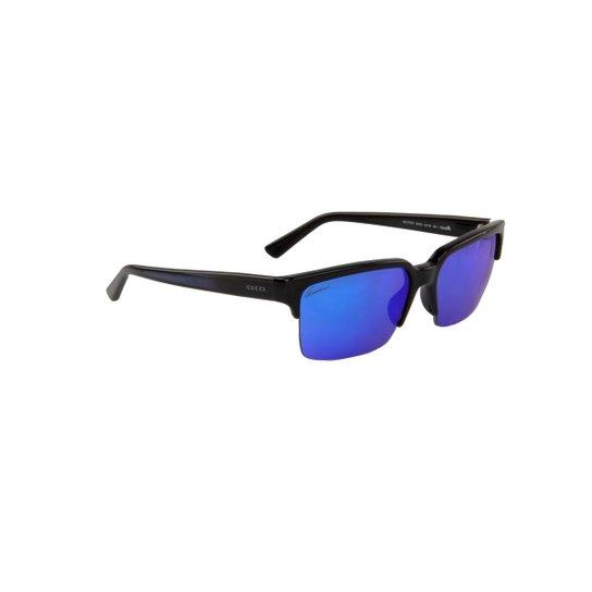 bde216636dac4 Óculos de Sol Emporio Armani 100% Proteção U.V. Tartarugado - Marrom Escuro+ Preto