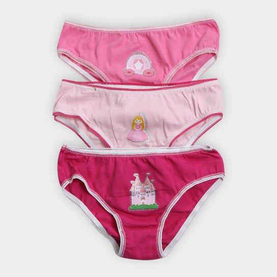20ac12fca Kit Calcinhas Infantil Evanilda Rapunzel 3 Peças - Compre Agora ...